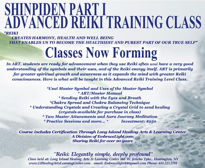 Class Now Forming for November 4th Click Flyer for Details